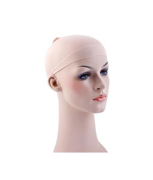 Wig Cap- Beige 2pcs