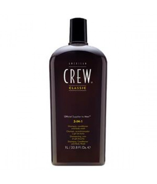 3 In 1 shampoing- revitalisant et gel douche Litre