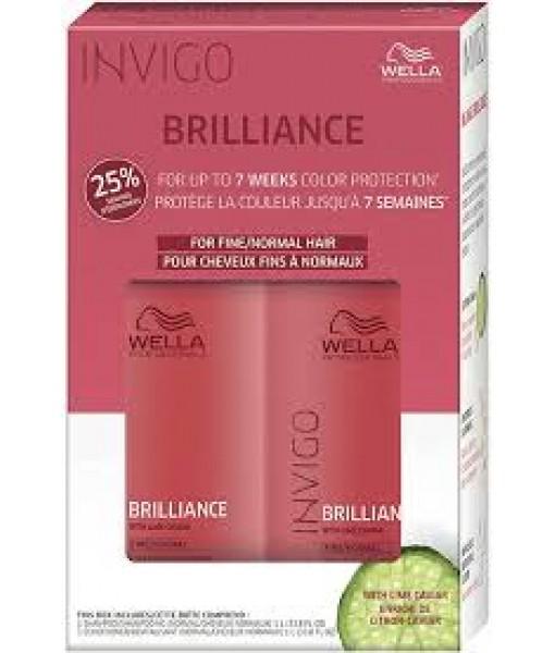 Duo Brillance shampoing/revitalisant 300ml