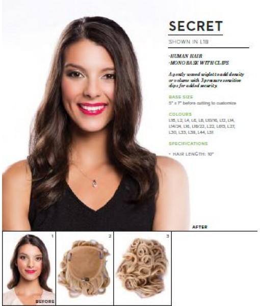 L10/16 Humain Hair -Secrete